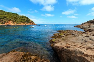 Tamariu bay, Costa Brava, Spain.