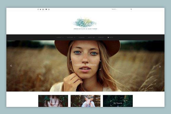 Elea Elegant Blog Shop Theme