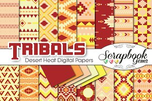 Aztec Digital Papers - Desert Heat