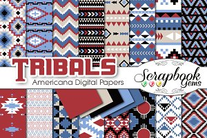 Aztec Digital Papers - Americana
