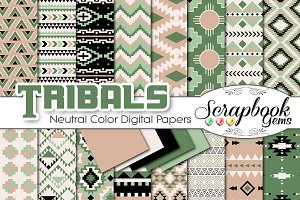 Aztec Digital Papers - Neutrals