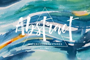Abstract Watercolor Textures Vol 1