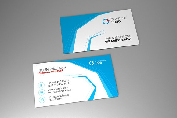Corporate Business Card Vol.6