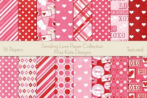 Sending Love Paper Pack