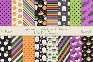 Halloween Cuties Digital Paper Pack