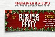 Christmas & New Year Party FB Cover