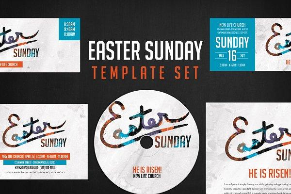 Easter Sunday Church - Vibrant