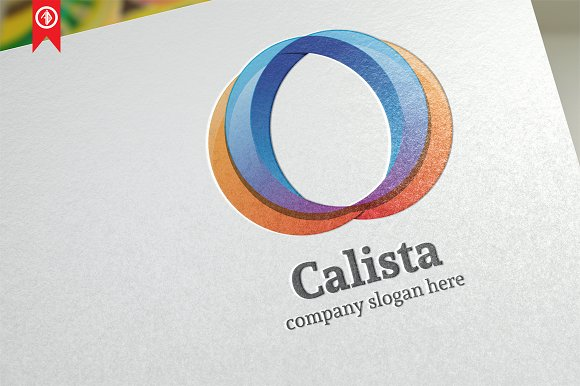 Abstract Calista Logo Template