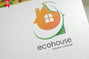 Eco House / Building - Logo Template