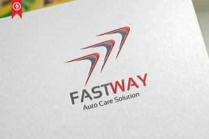 Autocare / Fast Way - Logo Template