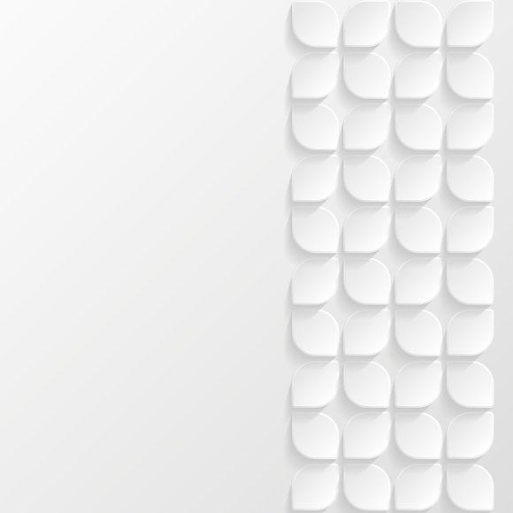 Set of geometric backgrounds