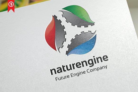 Nature Engine - Logo Template