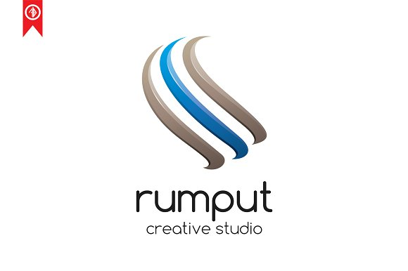 Abstract / Rumput - Logo Template in Logo Templates - product preview 1