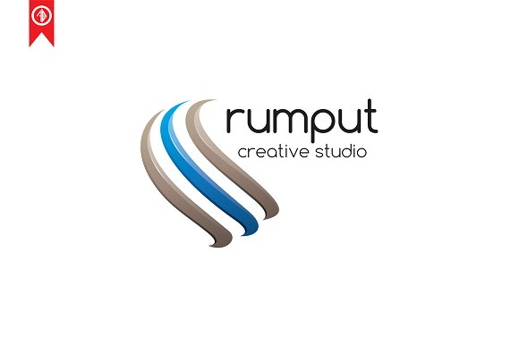 Abstract / Rumput - Logo Template in Logo Templates - product preview 2