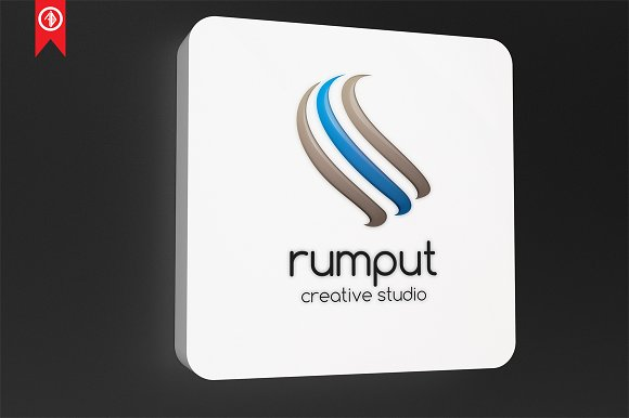 Abstract / Rumput - Logo Template in Logo Templates - product preview 4