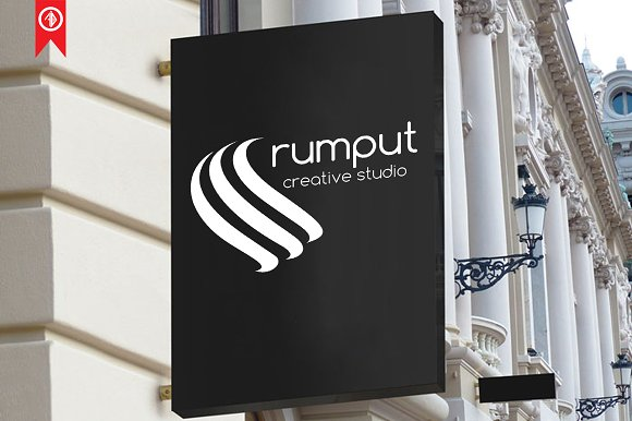 Abstract / Rumput - Logo Template in Logo Templates - product preview 6
