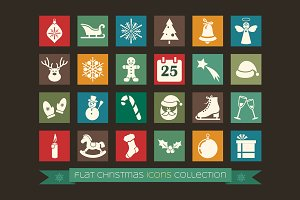 Christmas Icons (vector design)