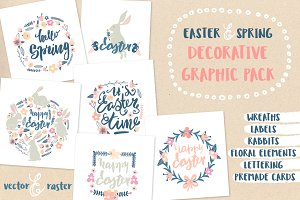 EASTER AND SPRING GRAPHIC PACK