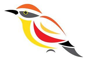 Vector of a bird.