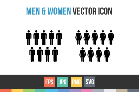 Male And Female Symbols Sign Vector Icons Creative Market