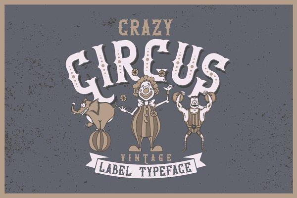 Crazy Circus typeface