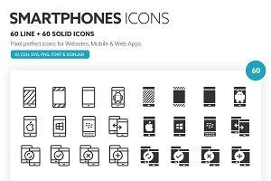 Smartphones Icons
