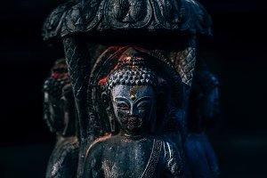 Deep Buddhist Statue