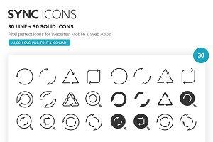 Sync Icons