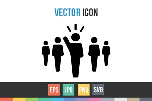 Leader, Leadership, President Vector