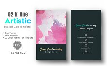 Artistic Business Card Template-010