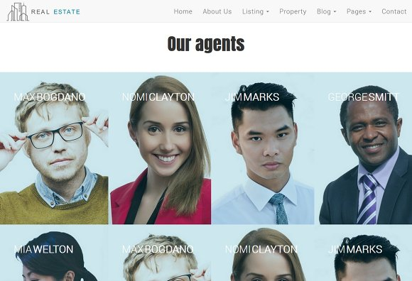 Real Estate Theme - Dream House in Bootstrap Themes - product preview 6