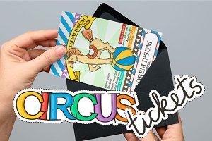 Circus Ticket Designs
