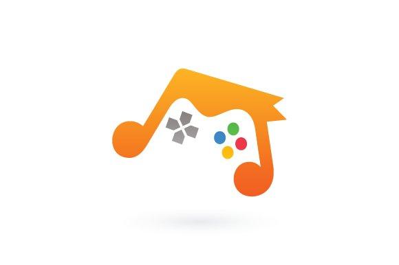 Music Game Logo Logo Templates Creative Market
