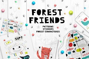 Forest friends | Graphics