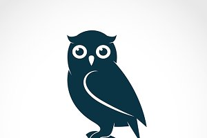 Vector of an owl.