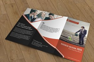 Business Brochure Trifold - V66