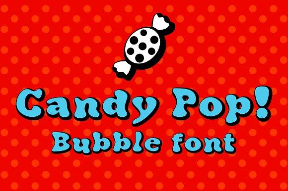 Candy Pop Bubble Font