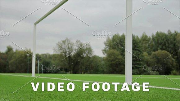 Behind The Football Gate View Slider Shot