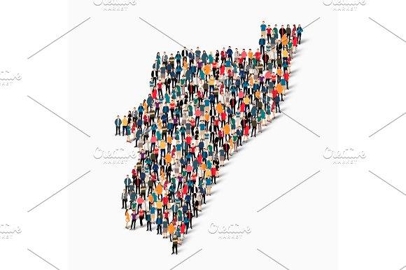 people map country Kwazulu vector