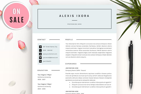 resume templates gresume - Resume Templates With Photo