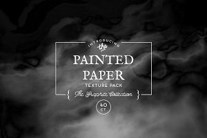 Painted Paper Textures Graphite