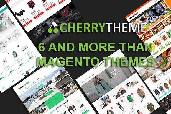 6 And More Than Magento Theme
