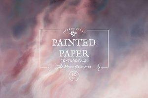 Painted Paper Textures Petal