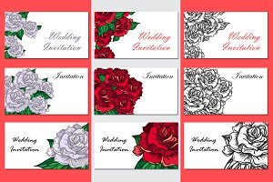 Romantic Roses Templates