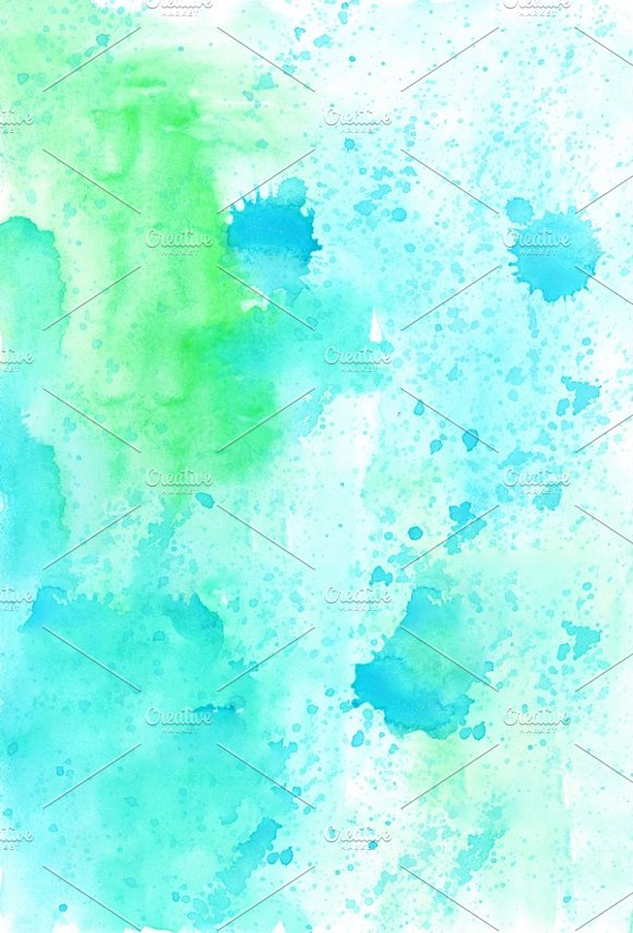 8 Watercolor Backgrounds