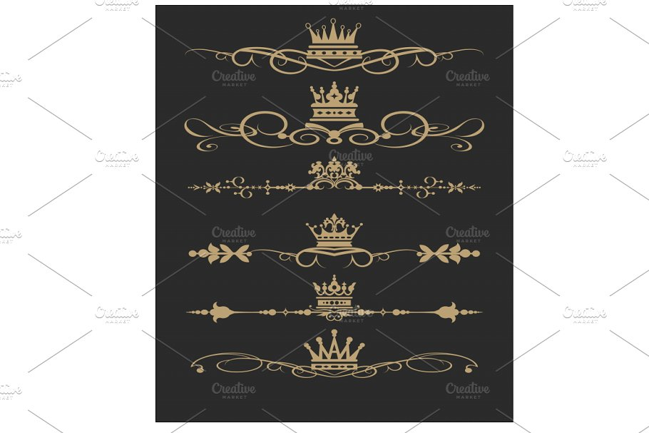 Set design elements vector 9