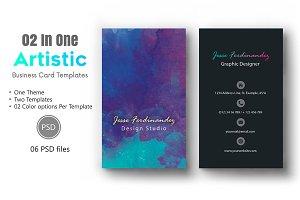Artistic Business Card Template-011