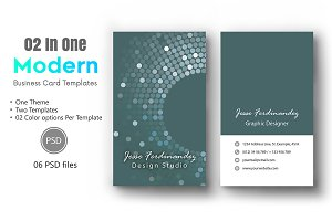 Modern Business Card Template-011