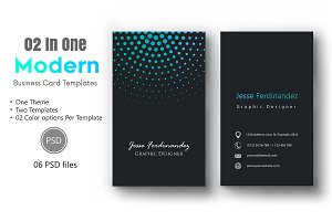 Modern Business Card Template-012