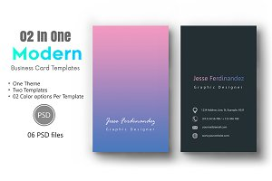 Modern Business Card Template-013